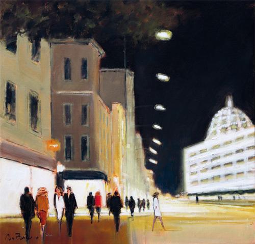 Late Shoppers - Harrods by Jon Barker