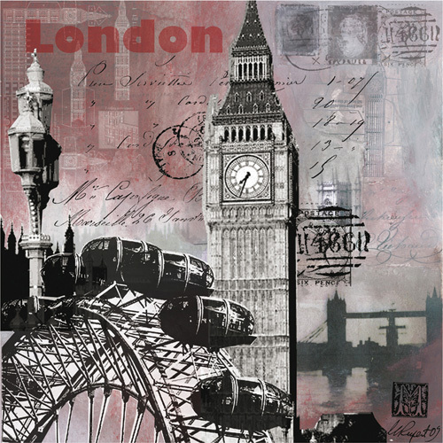 Sparkly Evening in London by Martine Rupert