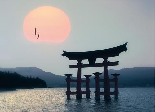 Miyajima, Japan by Edmund Nagele