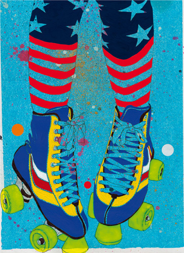 Rollerskates by Sarah Beetson