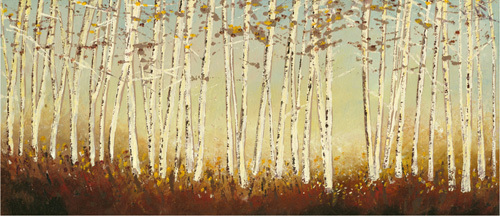 Silver Birch Trees by Serena Sussex