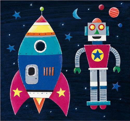 Rocket by Simon Hart