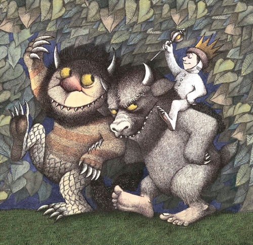 King Max, Carol and Bull by Maurice Sendak