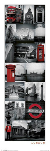London - Collage by Anonymous