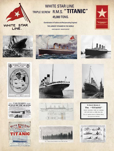 Titanic - Collage by Anonymous