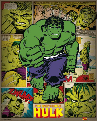 Incredible Hulk - Retro by Marvel Comics