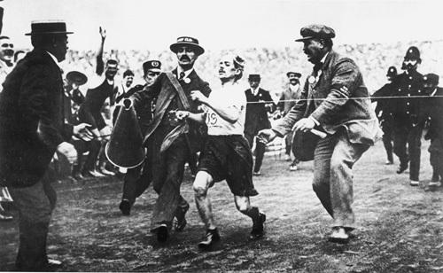 London Olympics 1908 - Marathon by Anonymous