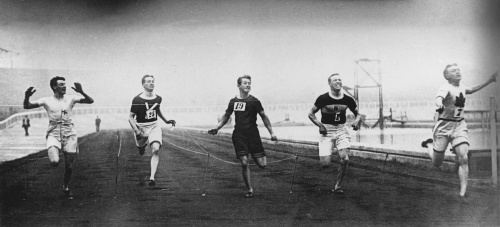 London Olympics 1908 - 200 Metres by Anonymous