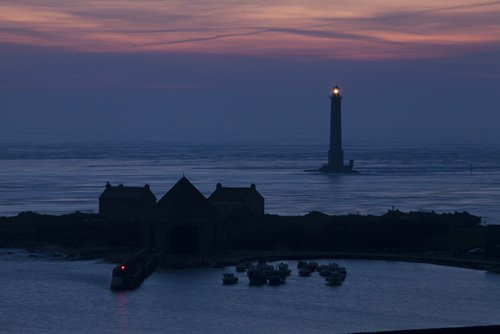 Phare de Goury by Jean Guichard