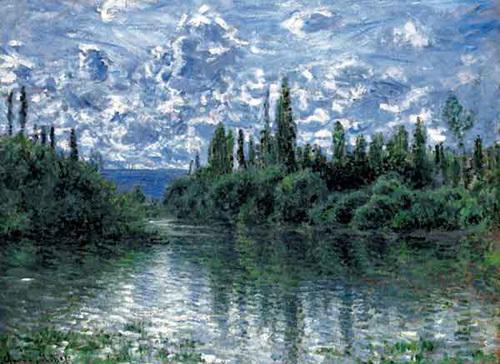 Seine by Claude Monet