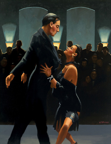 Rumba in Black by Jack Vettriano