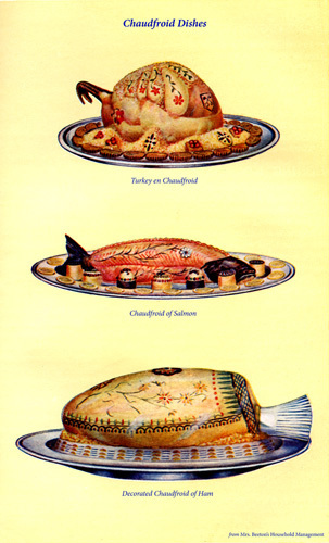 Chaudfroid Dishes by Mrs Beeton