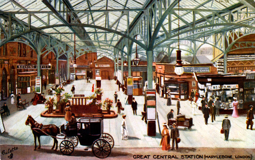 Marylebone Station, c.1900 by Gilette