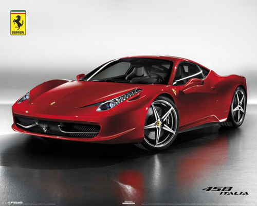 Ferrari - 458 Italia by Anonymous