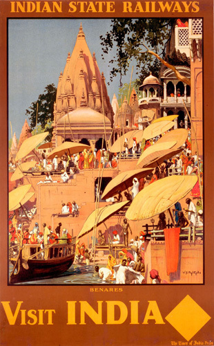 Indian State Railways - Benares by National Railway Museum