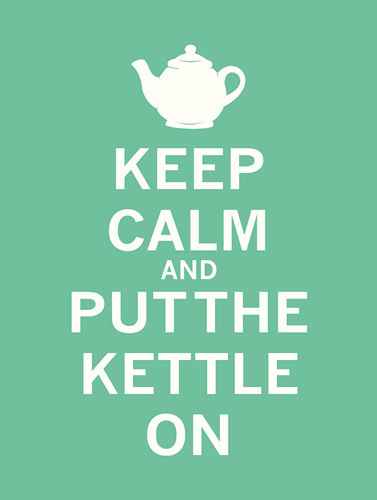 Keep Calm -= Mint Tea by The Vintage Collection