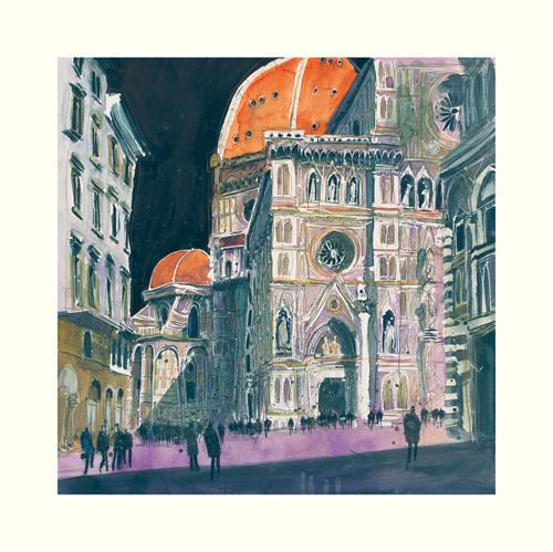 Santa Maria del Fiore, Florence by Susan Brown