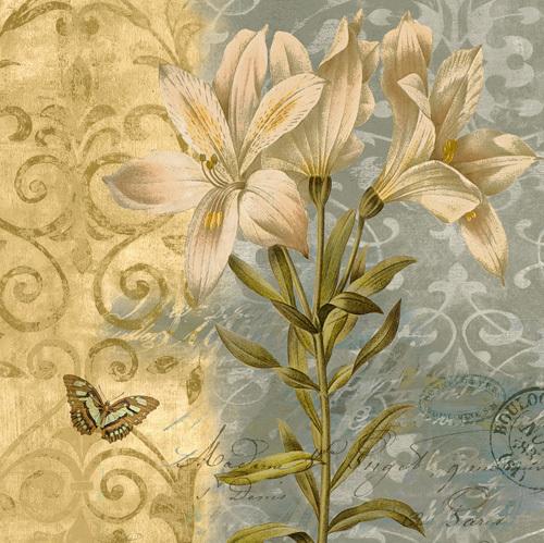 Flowers Butterfly II by Emma Hill