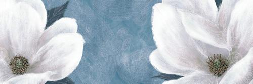 Paisley Flowers II by Linda Wood