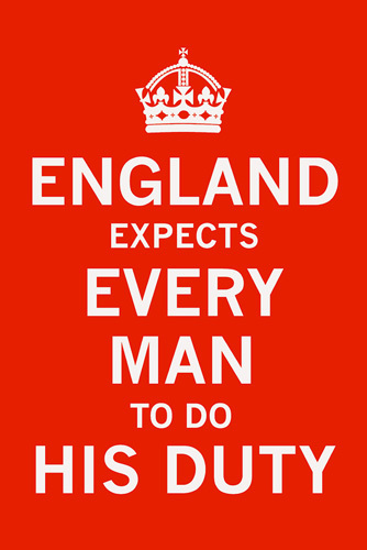 England Expects... by The Vintage Collection