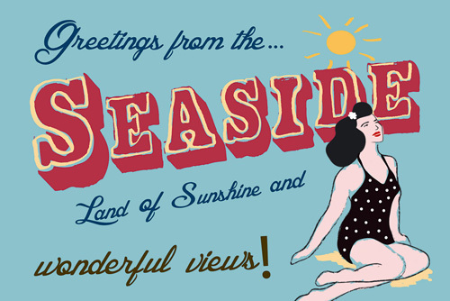 Seaside Greetings by The Vintage Collection