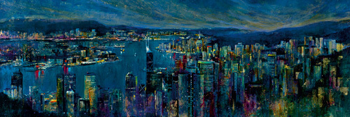 Jeweled City by Georgie