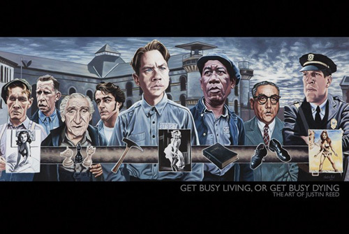 Get Busy Living or Get Busy Dying by Justin Reed