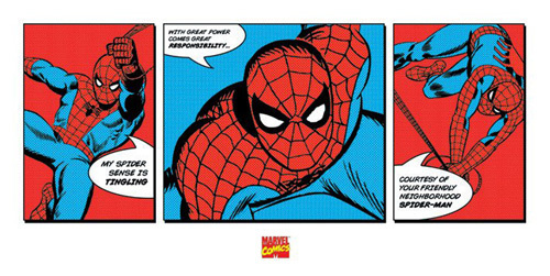 Spiderman - Triptych by Marvel Comics