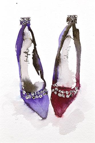 Crown Jewel Shoes by Bridget Davies