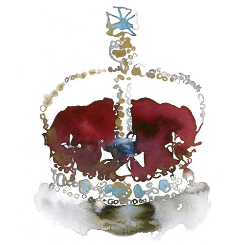 Red Crown by Bridget Davies