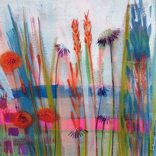 Mist Meadow by Shyama Ruffell