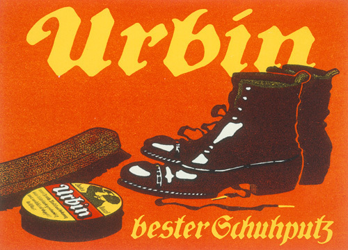 Urbin Shoe Polish, 1905 by Hans Lindenstaedt