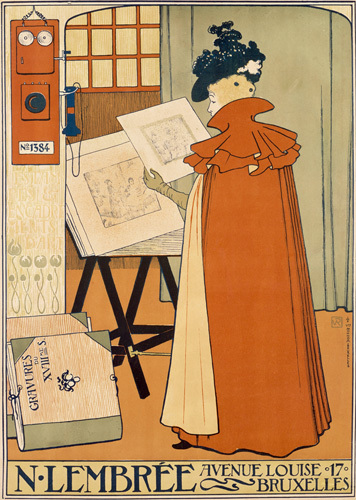 Lembree Art & Framing Co, Brussels 1897 by Theodore van Rysselberghe