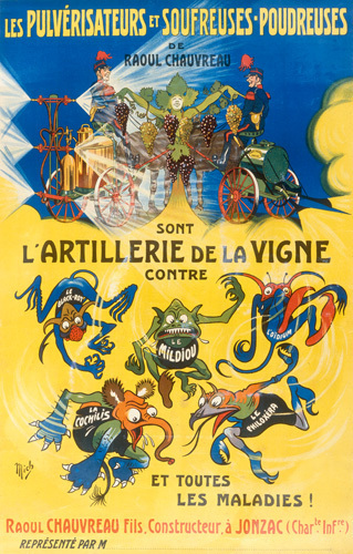 L'Artillerie de la Vigne, 1900 by Anonymous