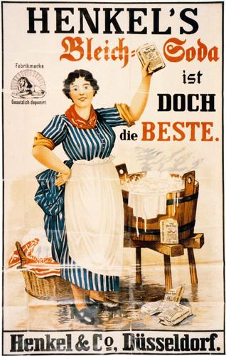 Henkel's Bleach Soda, 1913 by Anonymous
