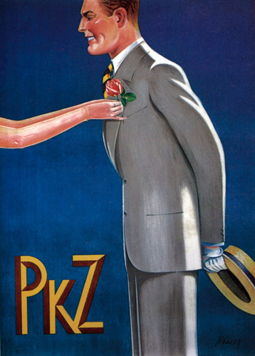 PKZ - Mens Fashions, 1927 by Blaser