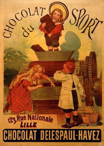 Chocolat du Sport, 1892 by Anonymous