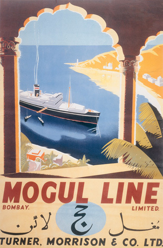 Mogul Line Bombay 1935 by Anonymous
