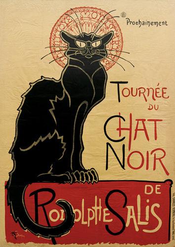 Tournee du Chat Noir, 1896 by Theophile-Alexandre Steinlen