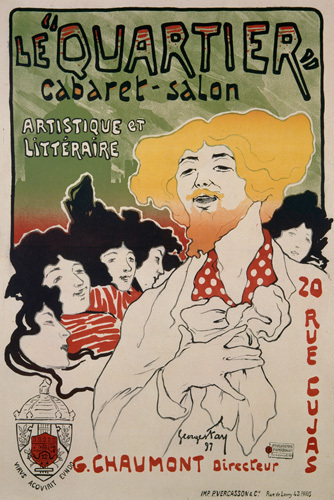 Le Quartier Cabaret, 1897 by Georges Fay