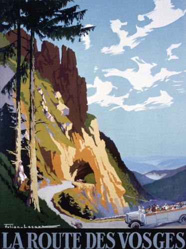 La Route des Vosges, 1925 by Julien Lacaze