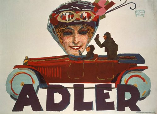 Adler Automobiles, 1914 by August Hajduk