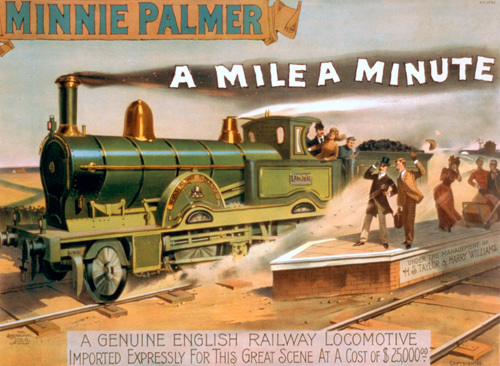 Minnie Palmer - Mile a Minute, 1891 by Anonymous