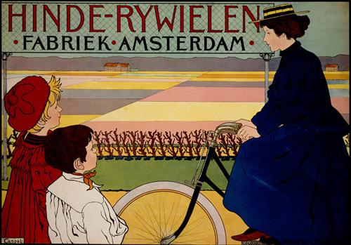 Hinde-Rywielen Cycles, 1896 by Johan Georg van Caspel