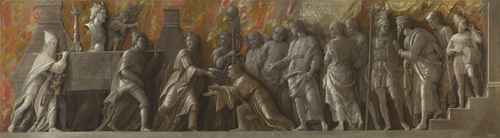 The Introduction of the Cult of Cybele at Rome by Andrea Mantegna