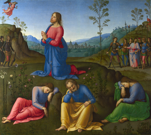 The Agony in the Garden by Lo Spagna