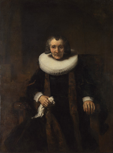 Portrait of Margaretha de Geer, Wife of Jacob Trip by Rembrandt