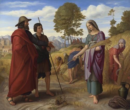 Ruth in Boaz's Field by Julius Schnorr von Carolsfeld