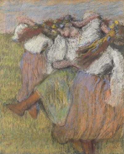 Russian Dancers by Edgar Degas