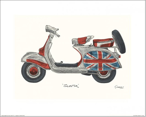 Scooter by Barry Goodman